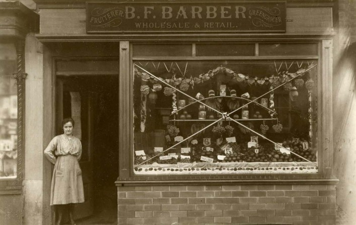Bottom Shop - Auntie Gert circa 1920
