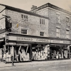 Cawdell's - Corner of High Street and Oundle Road, 1920's