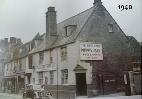 Kings Arms Inn, Thrapston (1940)