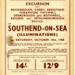 Further details of Railway Excursion to Southend on sea