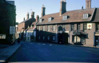 High Street looking towards the Bridge, 1965