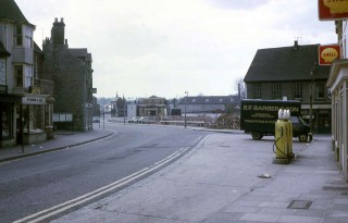 High Street looking towards the Plaza, late 1970s