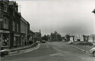 High Street, looking towards the Plaza 1970