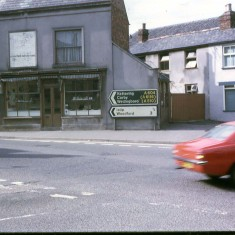 Johnson's Butcher, Cosy Nook -  Bridge Street Corner 1970