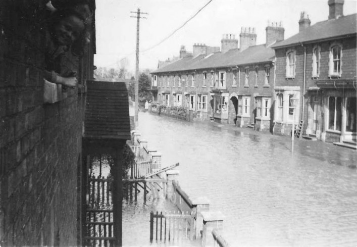 Midland Road Floods - 18th March 1947 - Bob Stanford's house