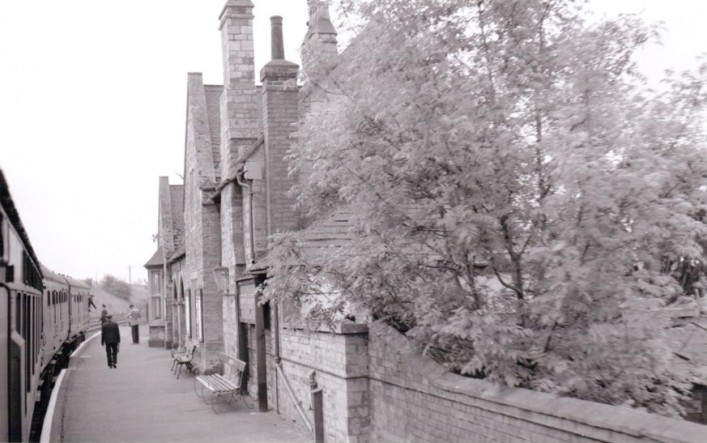 Midland Road Station 1959 - 16 days before it closed