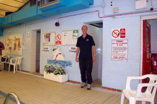 Thrapston Swimming  Pool - Eric Franklin (Manager)