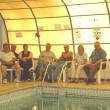 Thrapston Pool - The last Early Risers