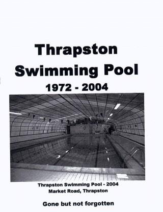 Thrapston Swimming Pool leaflet (cover)