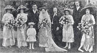 Wedding of Norah Gainer to J G Turner