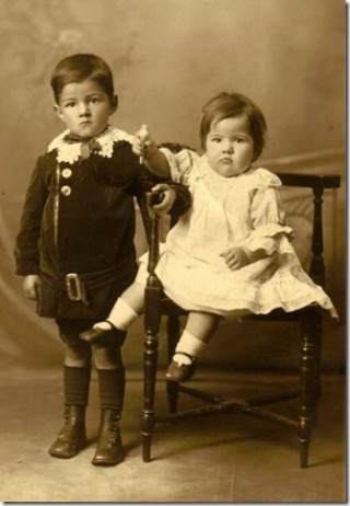 Lily and Ronald 1917