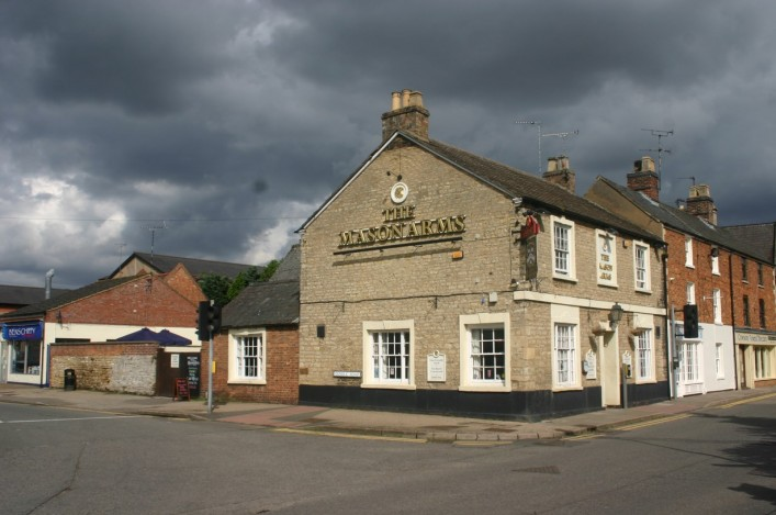 The Mason Arms, facing Oundle Road (2012) | Eric Franklin
