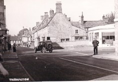 Junction of High St. & Oundle Rd.  Thrapston