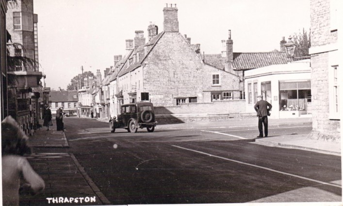 High Street Junction with Oundle Road (1950s)