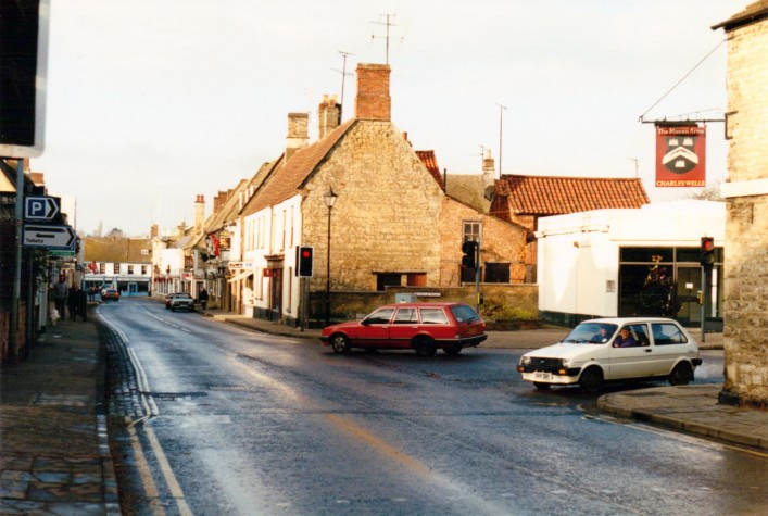 High Street Junction with Oundle Road (1993) | Eric Franklin
