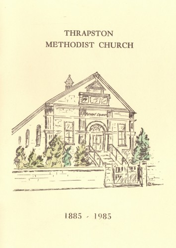 Thrapston Methodist Church Centenary 1885 - 1985