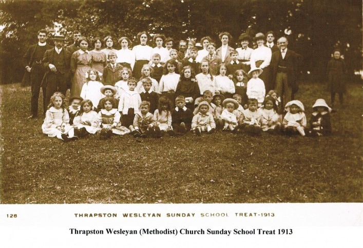 Thrapston Methodist Church Sunday School Treat 1913