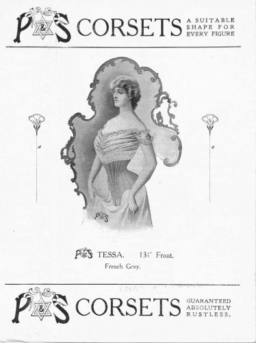 Freeman & Webb Leaflet (Corsets)