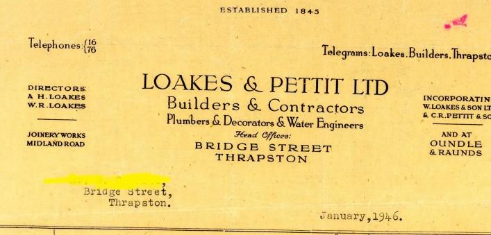 Loakes & Pettit, Bridge Street, 1946 | G Borrett