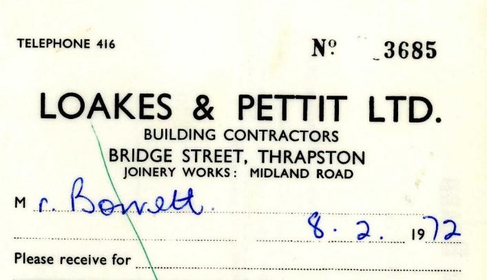 Loakes & Pettit Ltd, Bridge Street, 1972 | G Borrett