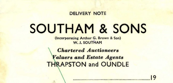 Southam & Sons, Auctioneers,  | G Borrett