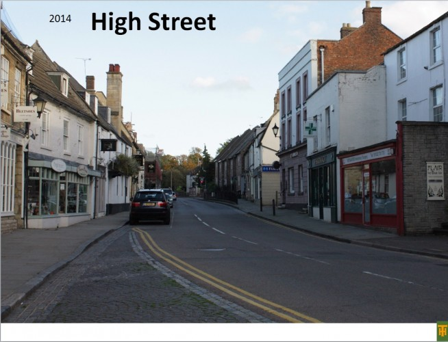 High Street,  Thrapston (towards Oundle Road Junction)  | Peter Gout
