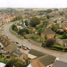 Overlooking Oundle Road,