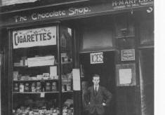 The Chocolate Shop - c1930