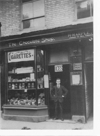The Chocolate Shop, Bridge Street, c1930