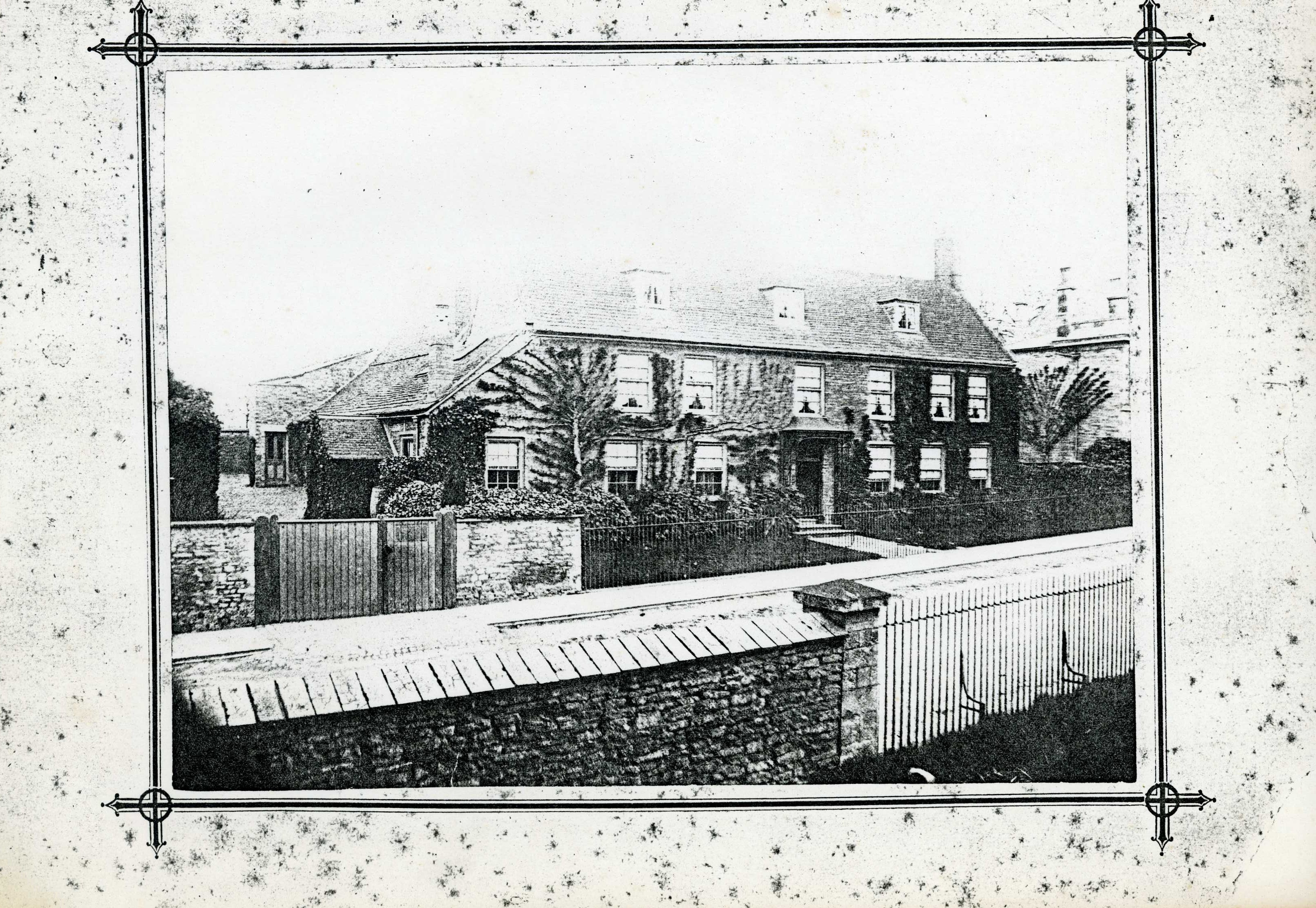 Belmont House (before the surgery was added)