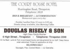 1990 Business Advertisements (Thrapston)