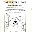 A Housewife's Fair - 31st January, 1929