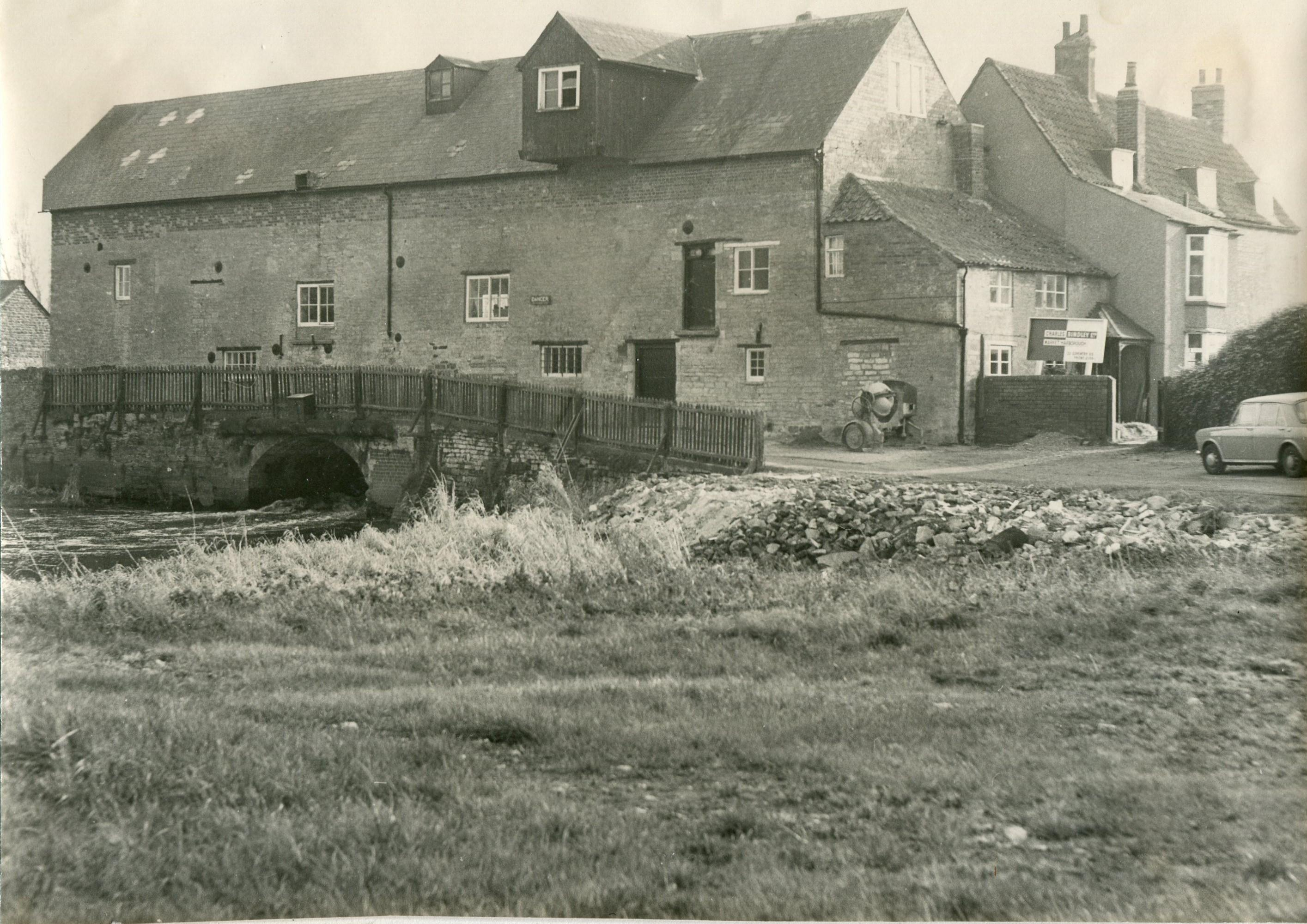 Islip Mill 1973 (During Restoration)