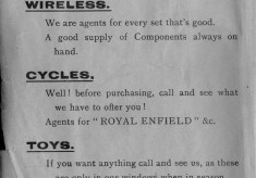 1938 Business Advertisements (Thrapston)