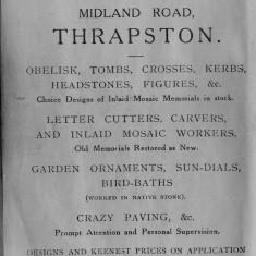 1938 Business Advertisements (Thrapston)   G Ireson & Son