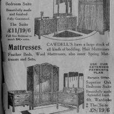 1938 Business Advertisements (Thrapston)    Cawdells