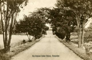 Entrance to Cedar Drive c1920s