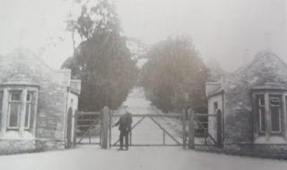 Lodges at entrance to Cedar House c1900