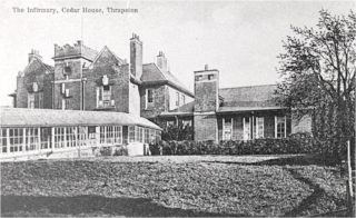 The Infirmary at Cedar House c1920