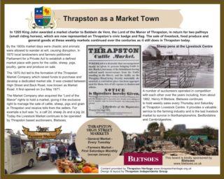 Thrapston - A Market Town