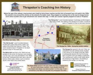 Thrapston's Coaching Inn History