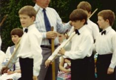 Thrapston County Primary School (Top School) June Rose Day 1988