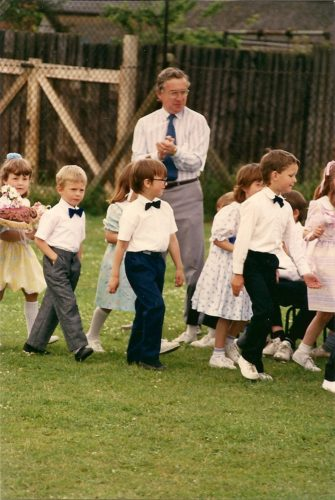 Thrapston County Primary School (Top School) June Rose Day 1988 | Alison & Ian Byrnes