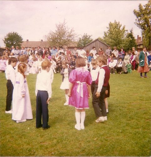 June Rose Day at TCPS 'Top School' 21.05.1987