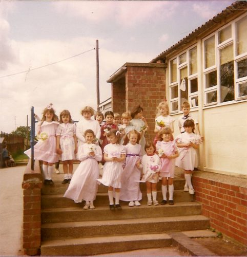 TCPS ' June Rose Day' Top School 21.05.1987