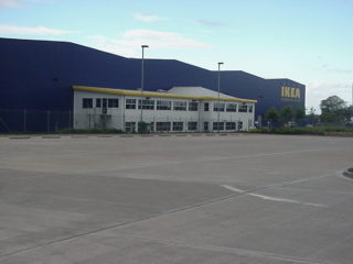 Lorry Park empty, must have been a Sunday   Ian Byrnes