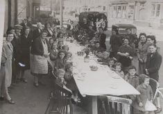 Delayed VE Day Street Party, Midland Road